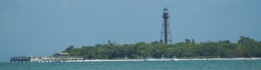 The lighthouse on Sanibel Island.