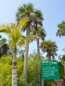 A sign welcomes visitors to Sanibel Island at Bowman's Beach.