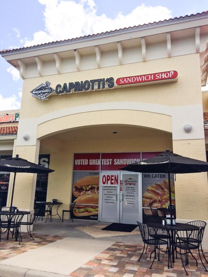 Southwest Florida Pit Stop: Capriotti's Sandwich Shop