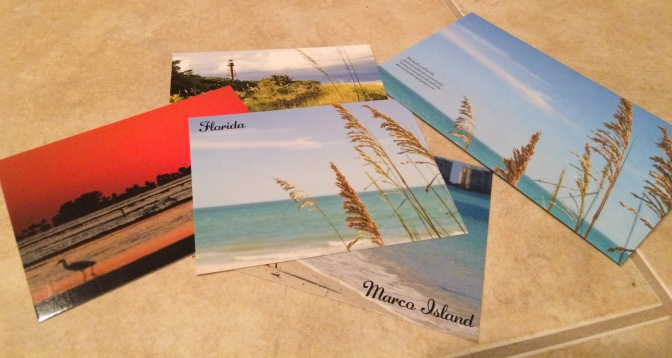 Expressions of a Joyful Day at the Beach – Postcards from Florida