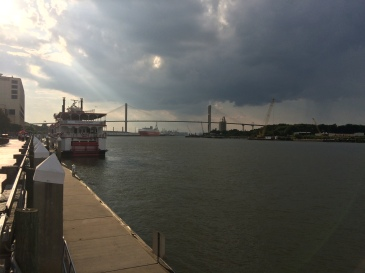 The Savannah River.