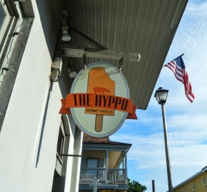 The Hyppo serves gourmet popsicles in St. Augustine.